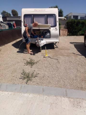 Campsite in Spain